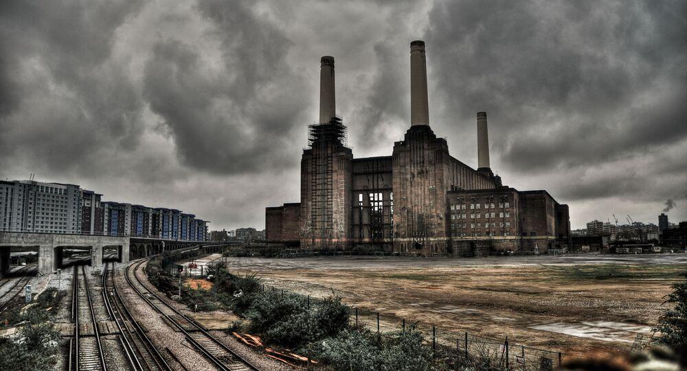 Nieczynna elektrownia Battersea w Londynie
