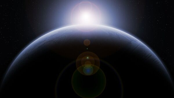 Artystyczny wizerunek nieznanej planety - Sputnik Polska