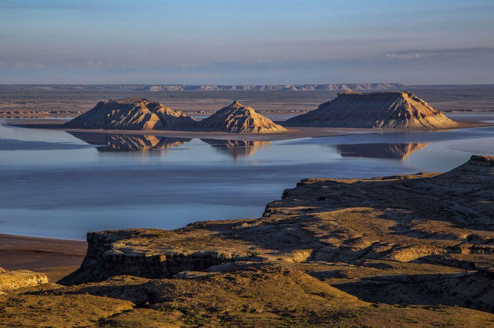 Ustiurt - płaskowyż w zachodnim Kazachstanie