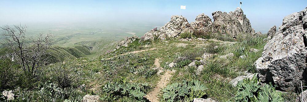 Góra Kazigurt w Kazachstanie