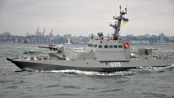 "Kuter pancerny projektu 58155 ""Gurza-M"" Marynarki Wojennej Ukrainy - Sputnik Polska"