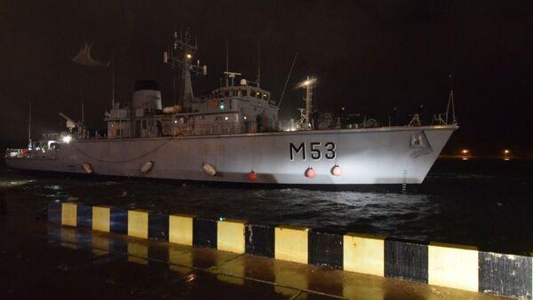 Akcja ratunkowa w czasie awarii promu Regina Seaways na Morzu Bałtyckim - Sputnik Polska