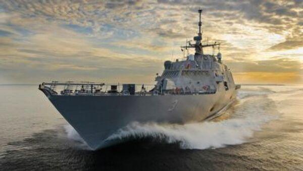 Okręt USS Fort Worth (LCS-3) - Sputnik Polska