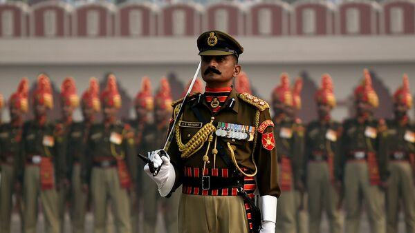 Parada wojskowa w Nowym Delhi - Sputnik Polska