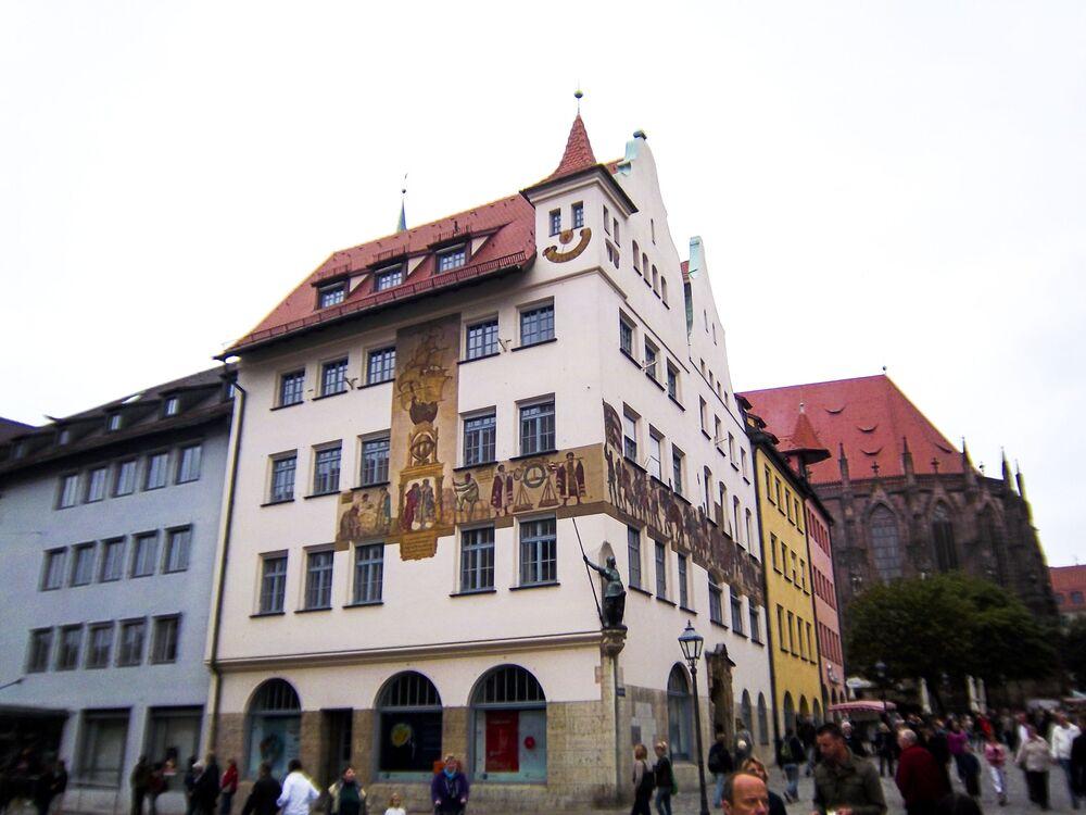 Uśmiech na budynku, Niemcy