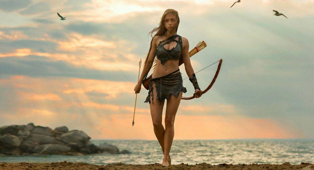 Zdjęcie z serii Amazonki autorstwa Siergieja Suchowieja