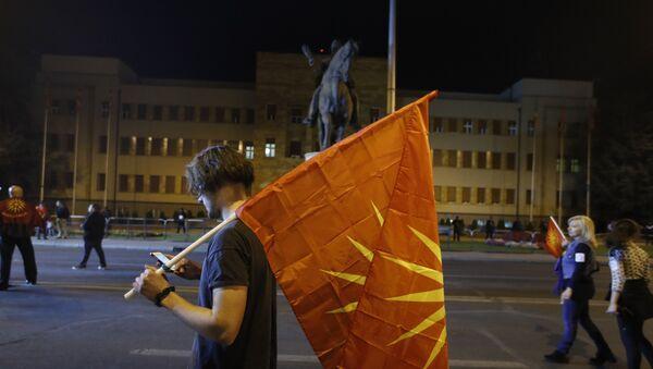 Macedonia, Skopje - Sputnik Polska