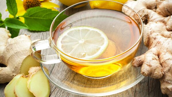 Herbata z cytryną i imbirem - Sputnik Polska