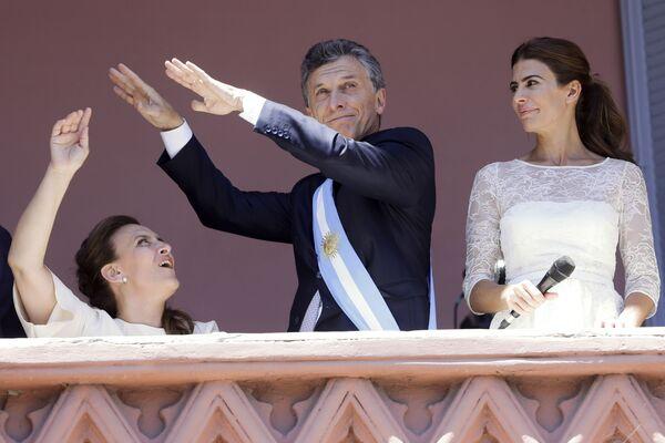 Prezydent Argentyny Mauricio Macri - Sputnik Polska