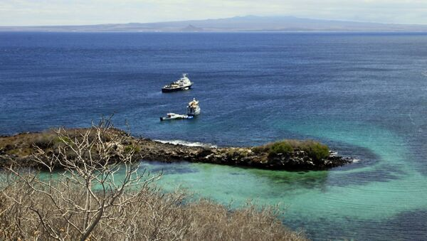 Widok na Wyspy Galapagos - Sputnik Polska