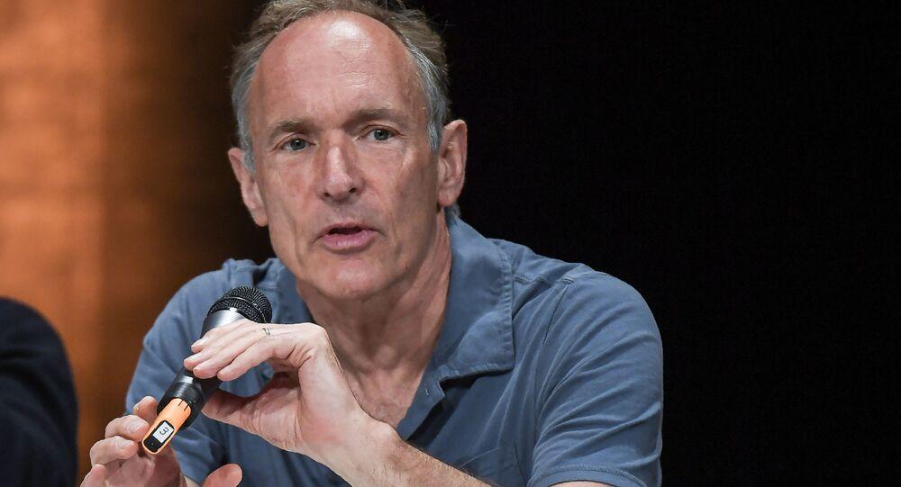 Brytyjski naukowiec Tim Berners-Lee