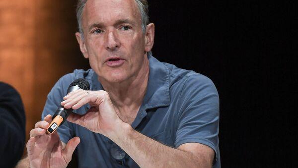 Brytyjski naukowiec Tim Berners-Lee - Sputnik Polska