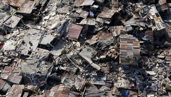 Haiti po trzęsieniu ziemi - Sputnik Polska