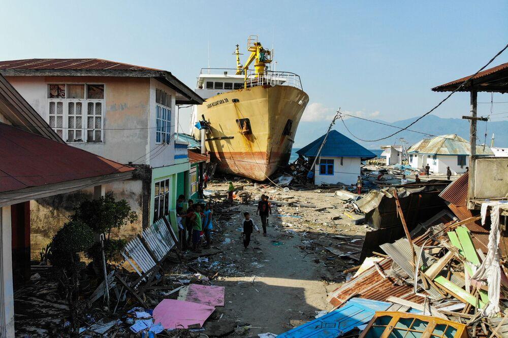 Skutki tsunami w Indonezji