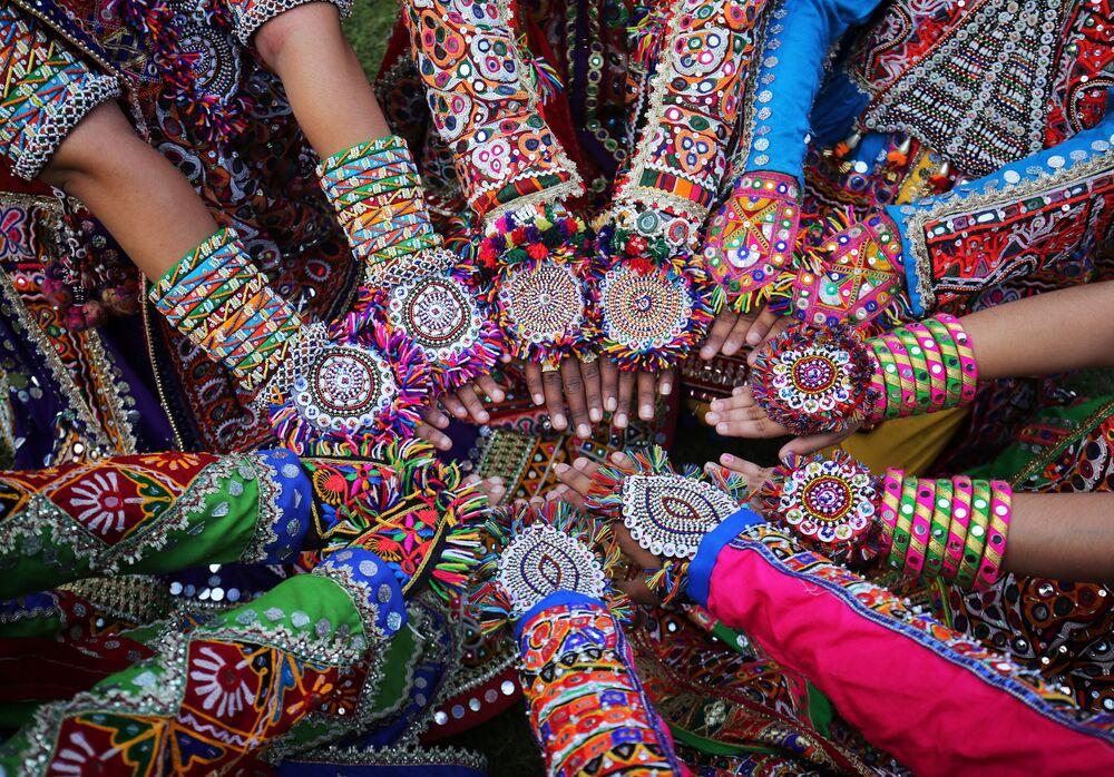 Święto hinduistyczne Nawaratri