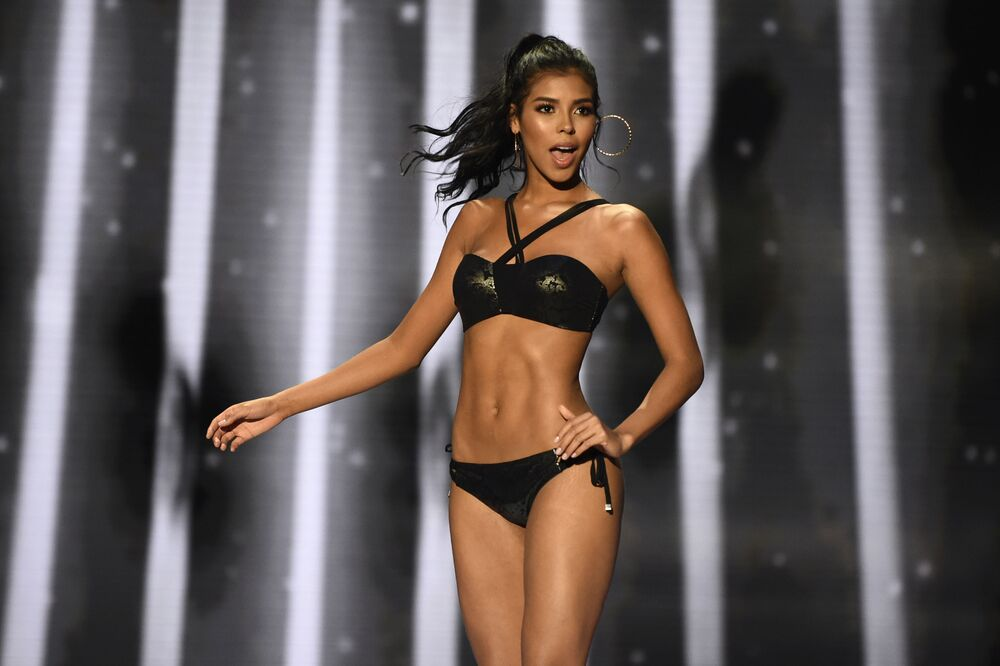 Uczestniczka konkursu piękności Miss Kolumbia 2018 Miriam Carranza