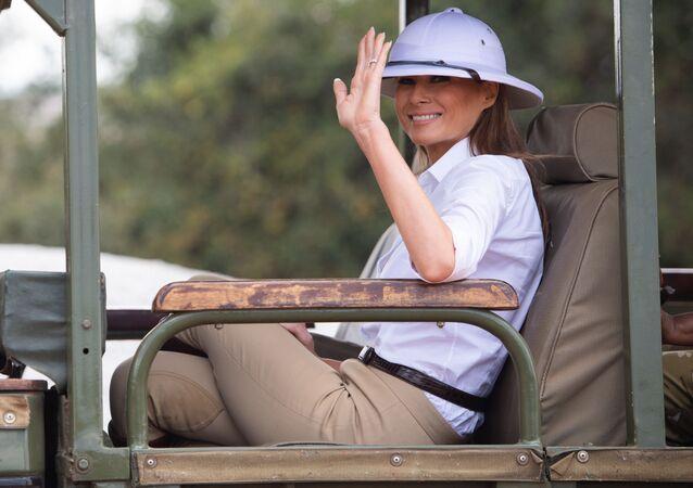 Melania Trump w Kenii