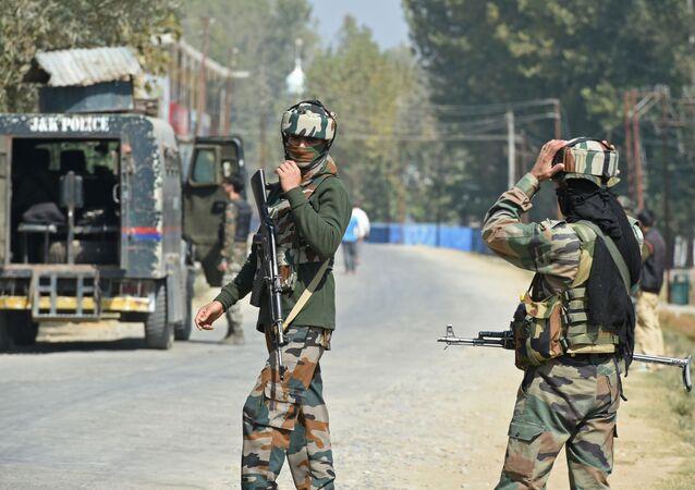 Indyjscy żołnierze