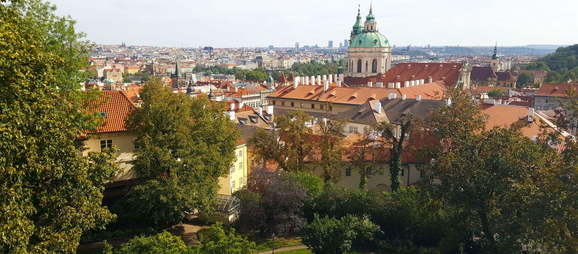Widok na Pragę, Czechy - Sputnik Polska, 1920, 17.05.2021