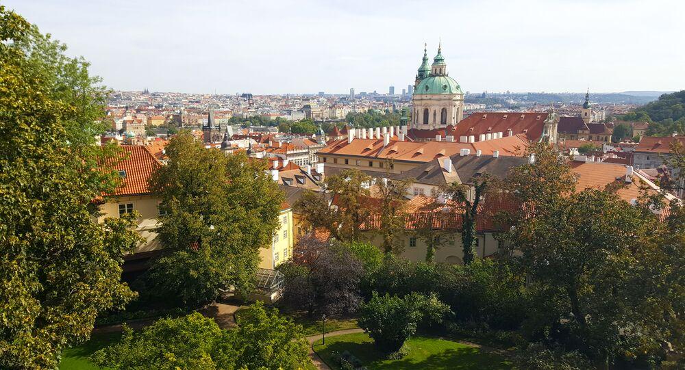 Widok na Pragę, Czechy
