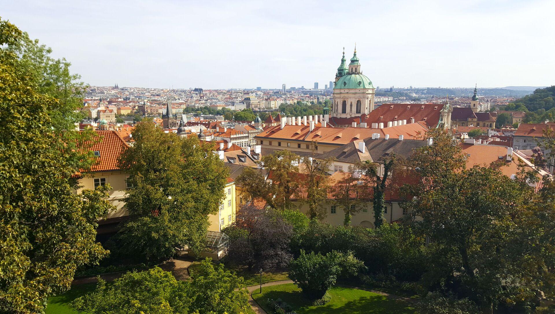 Widok na Pragę, Czechy - Sputnik Polska, 1920, 07.05.2021