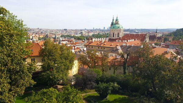 Widok na Pragę, Czechy - Sputnik Polska