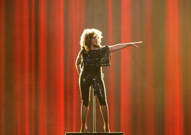 Amerykańska piosenkarka Tina Turner