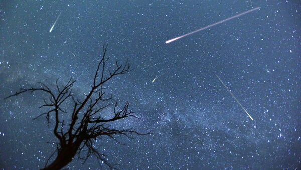 Deszcz meteorów - Sputnik Polska