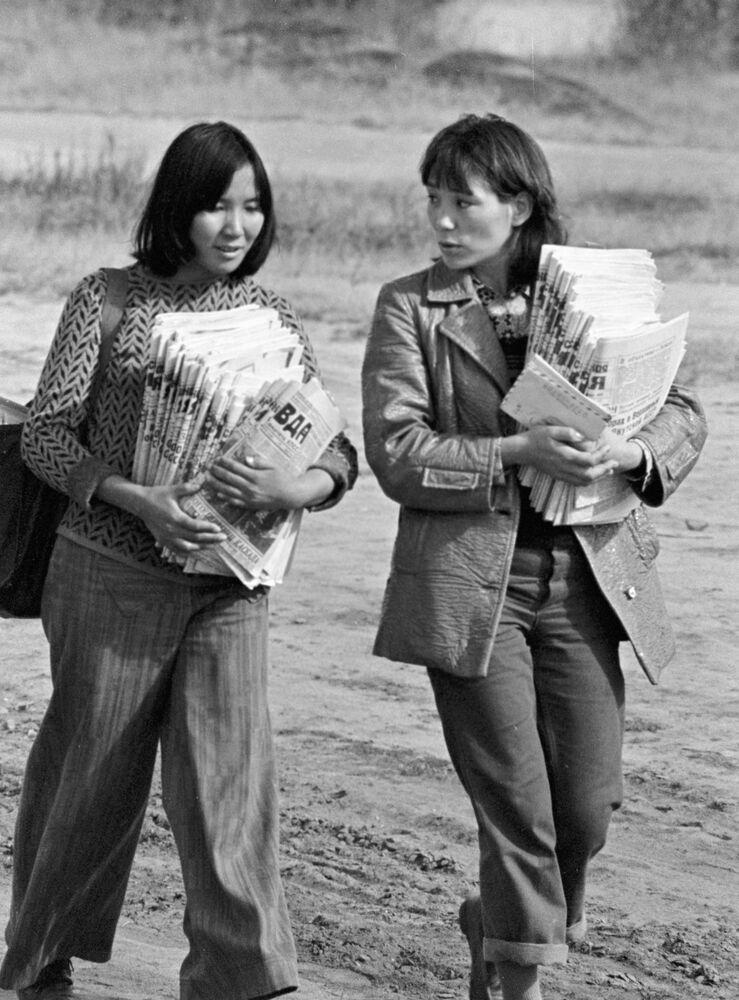 Listonoszki w Jakucji, 1978 rok