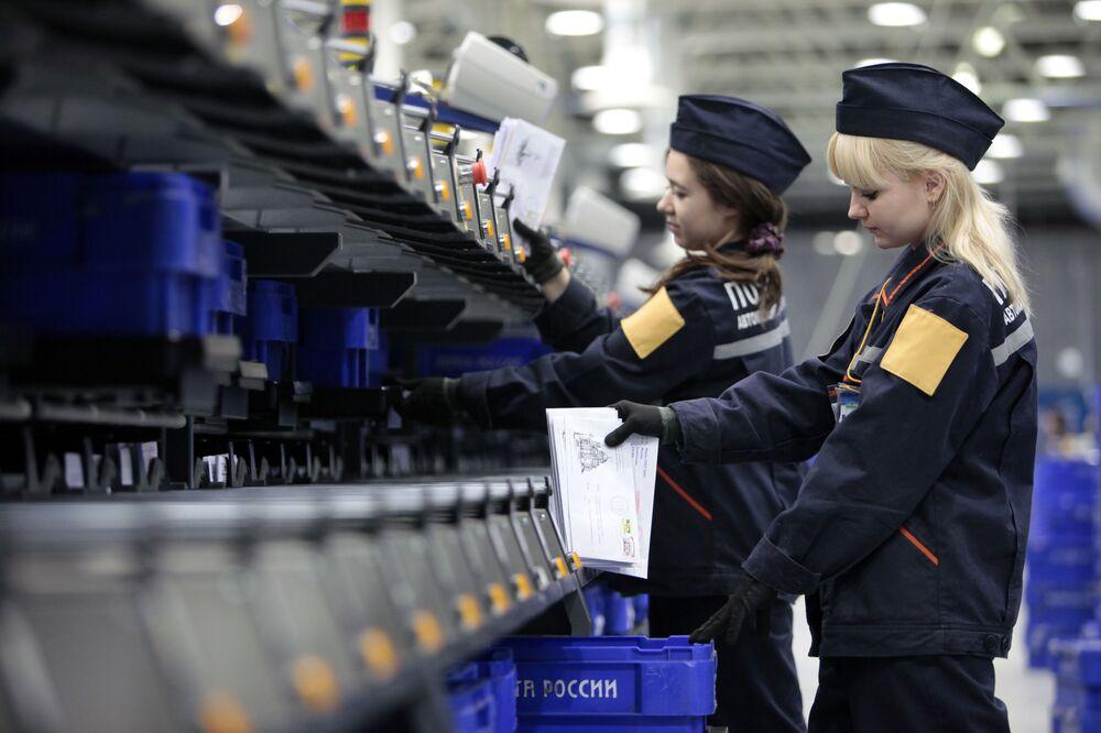 Pracowniczki Poczty Rosji