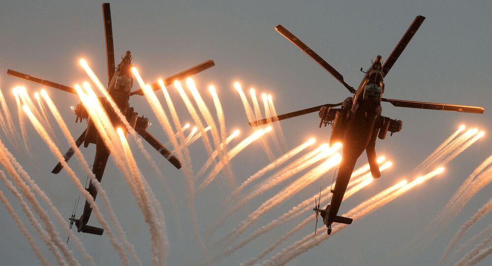 Śmigłowce Mi-28 Nocny łowca na zawodach pilotów wojskowych