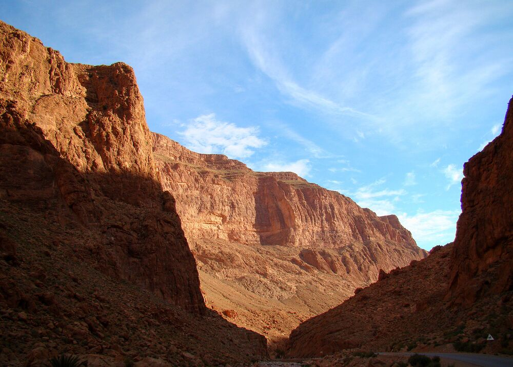Wąwóz Todgha Gorge, Maroko