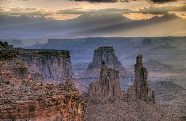 Park Narodowy Canyonlands – park narodowy położony we wschodniej części stanu Utah w Stanach Zjednoczonych - Sputnik Polska