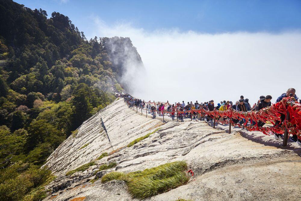 Hua Shan – góra w prowincji Shaanxi w Chinach
