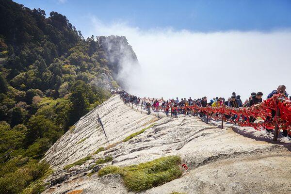Hua Shan – góra w prowincji Shaanxi w Chinach - Sputnik Polska