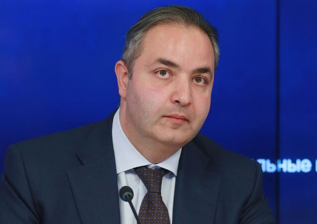 Wiceminister przemysłu i handlu Gieorgij Kałamanow