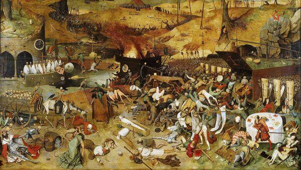 Obraz Triumf śmierci Pietera Bruegela (starszego) - Sputnik Polska