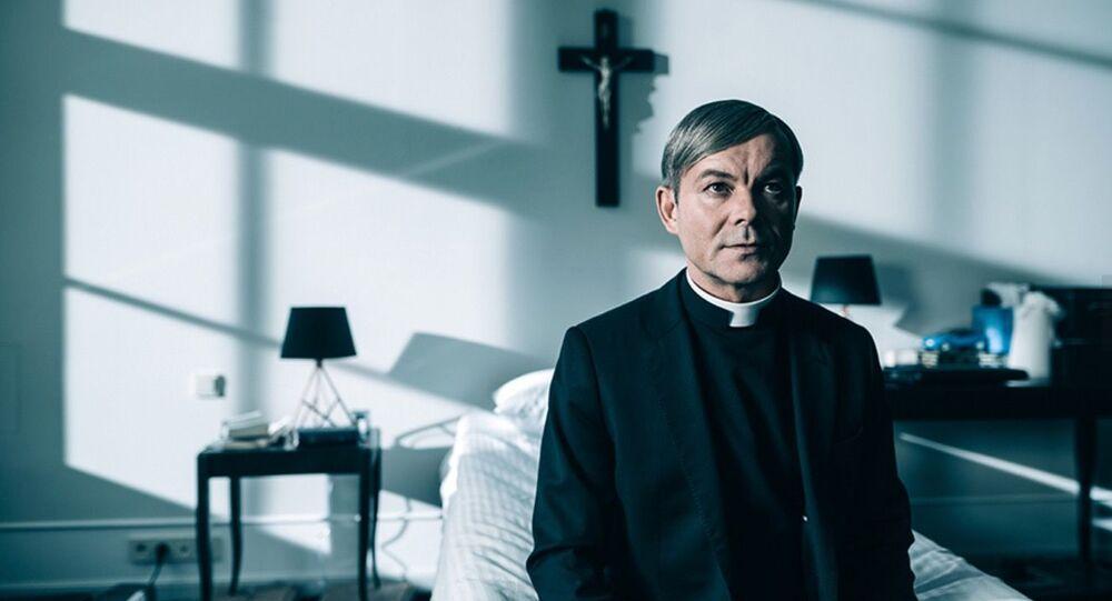 Kadr z filmu Kler