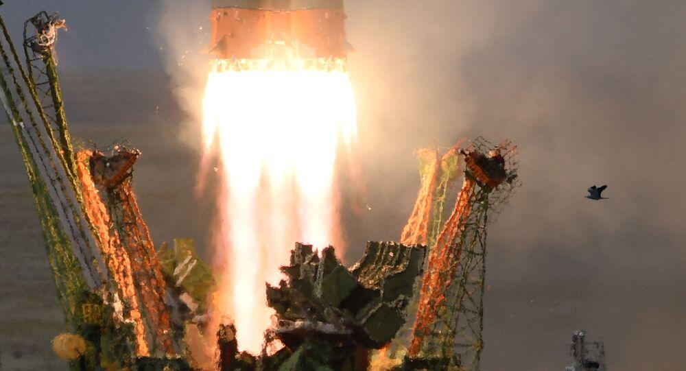 Start rakiety Sojuz