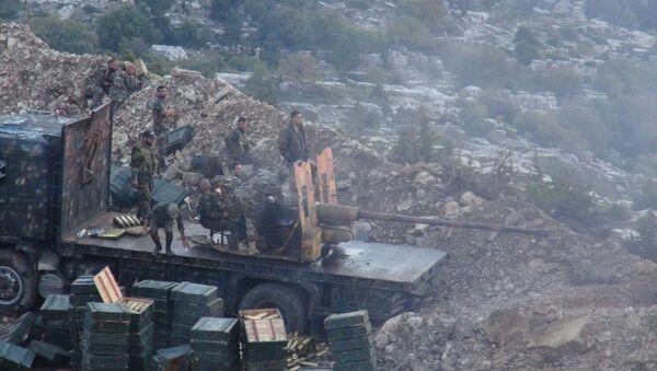 Syryjska armia w Latakii - Sputnik Polska