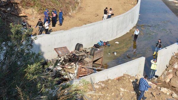 Wypadek ciężarówki z migrantami w Turcji - Sputnik Polska