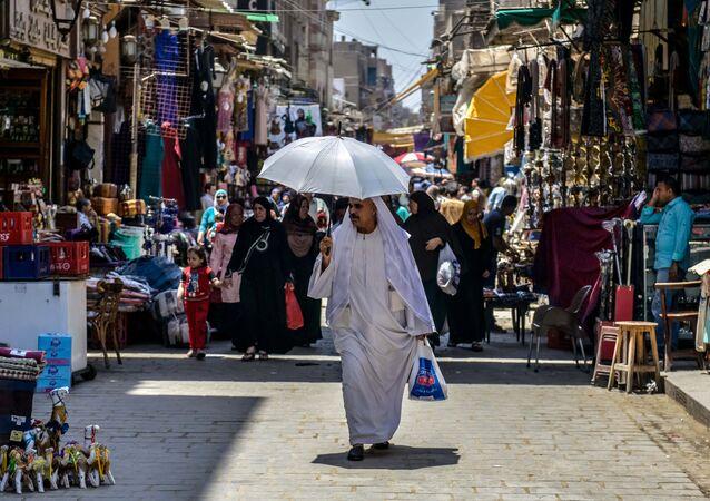 Rynek Chan al-Chalili w Kairze