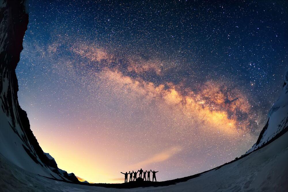 Droga Mleczna, Nepal