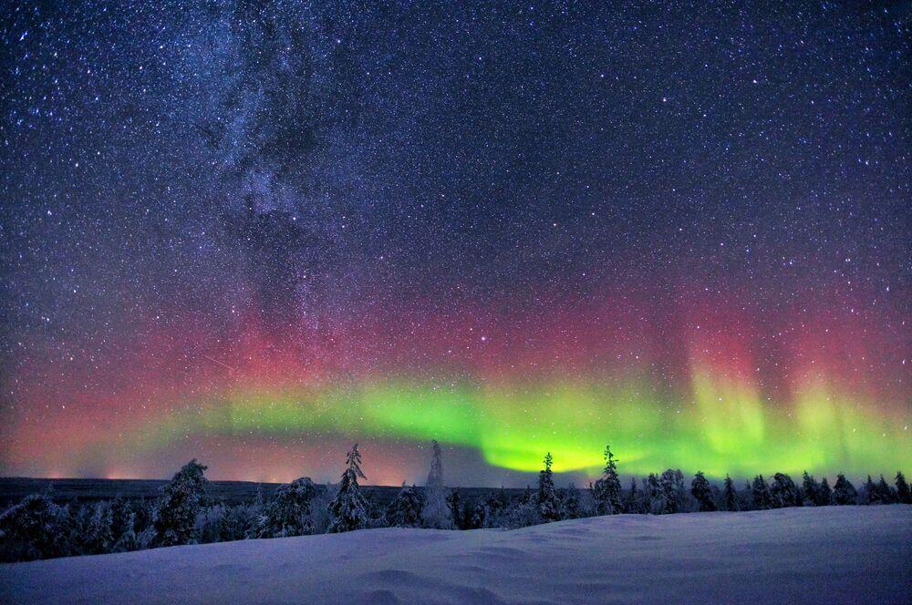 Droga Mleczna w Finlandii