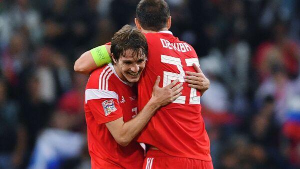 Reprezentacja Rosji pokonała Turcję w meczu Ligi Narodów. - Sputnik Polska