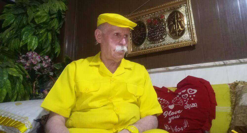 Abu Zakur, żółty człowiek