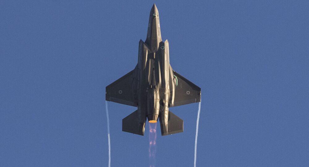 Myśliwce izraelskich sił powietrznych F-35