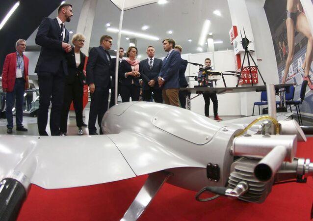 Wystawa polskich dronów