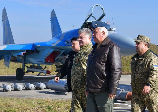 Robocza wizyta prezydenta Ukrainy Petra Poroszenki w obwodzie chmielnickim