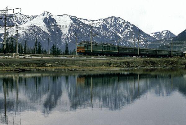 Kolej Bajkalsko-Amurska -  linia kolejowa w Rosji, przechodząca przez wschodnią Syberię i rosyjski Daleki Wschód - Sputnik Polska